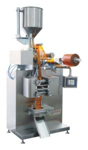 Granule Four-Side Sealing & Double-Line Packing Machine (DXDS-K350E) pictures & photos