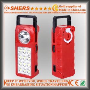Rechargeable LED Emergency Light with 1W LED Flashlight (SH-1902) pictures & photos