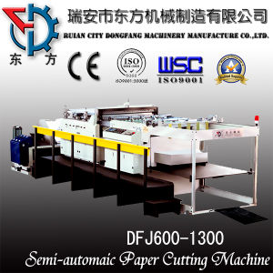 D Type Middle Slit Paper Sheeting Machine pictures & photos