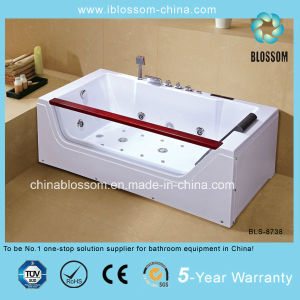 New Style Indoor Corner Jacuzzi Bathtub Massage Bath Tub (BLS-8738) pictures & photos
