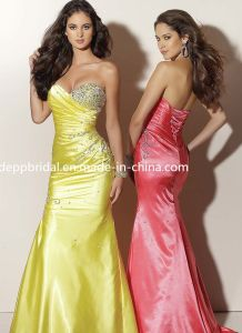 Sweetheart Taffeta Evening Dress (EV0082)