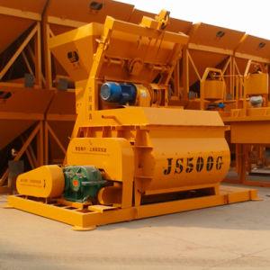Twin Shaft Electric Mini Concrete Mixer (Js500) pictures & photos