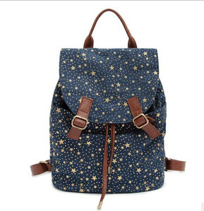 Fashion Japanese and South Korean Canvas Style Backpack for Lady pictures & photos
