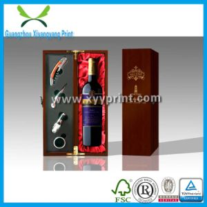 Wooden Single Wine Glass Box Manufactory in China pictures & photos