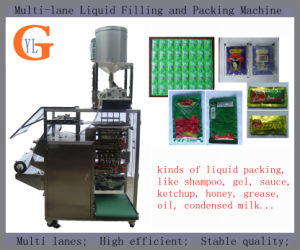 Multi-Lane Honey Filing and Packing Machine (4-side sealing) pictures & photos