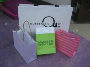 Custom Printed Shopping Paper Bag pictures & photos