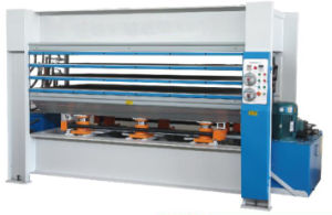 Surface Overlaid Laminated Board Production Line pictures & photos