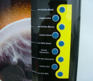 9-Selection Coffee Vending Machine (HV301M4) pictures & photos