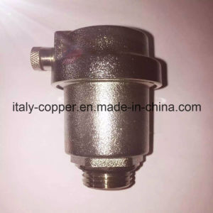 Nickel Plated Angle Type Air Vent Valve (IC-3038) pictures & photos