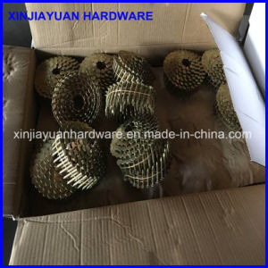 0.120′′x1-1/4′′ 15 Degree Eg Smooth Coil Roofing Nail pictures & photos