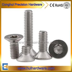 SUS304/SUS316 Countersunk/Csk/Flat Head Torx Machine Screws for Security pictures & photos