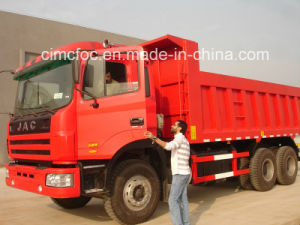 JAC Heavy Truck 6*4 Dump Truck pictures & photos
