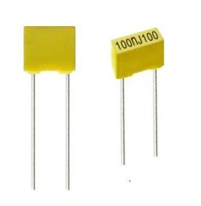 Box Type Polyester Film Capacitor (lead space 5mm) pictures & photos