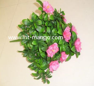 UV Protection Pink Color Artificial Flower for Hedge (MW16021) pictures & photos