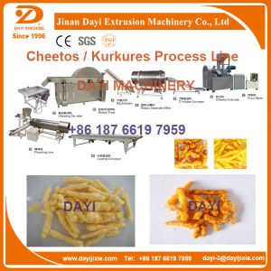 High Capacity Corn Curls Processing Line pictures & photos