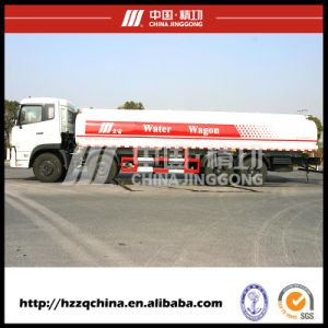 24500lfuel Tanker Truck Capacity, Oil Tanker (HZZ5313GJY) for Buyers pictures & photos