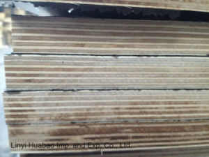 20*610*2500mm Finger Joint Recycle Film Faced Plywood for Israel Market pictures & photos