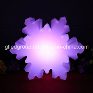 Outdoor Use RGB LED Snowflake for Christmas Decoration Wedding Lights
