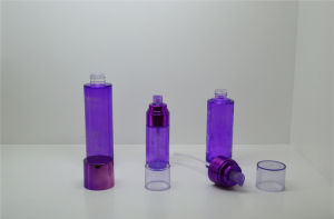 Acrylic Pyramid Round Jar and Bottles for Cosmetic Packaging pictures & photos