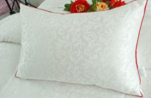 Silk Cover Duck Down Pillow