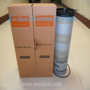 High Performance Hydraulic Oil Filter for Hitachi Excavator/Loader/Bulldozer