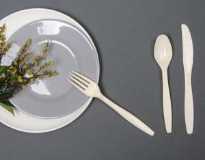 FDA Promotion Disposable PS Plastic Tableware pictures & photos
