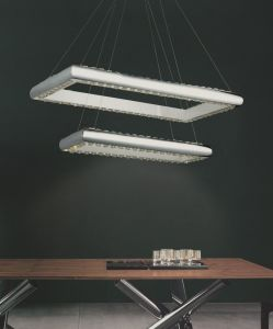 Modern New Design LED Crystal Pendant Light (MP90066-150WA) pictures & photos