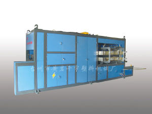 Automatic Plastic Thermoforming Machine, (ZFU-750A)