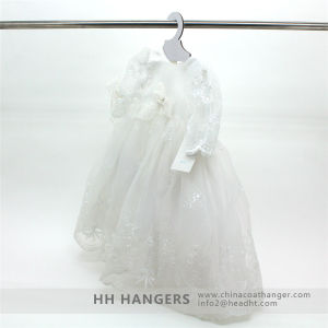Envirnomental White Baby Paper Cardboard Coat Hangers for Children′s Clothes pictures & photos