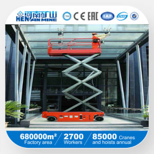 Manual Scissor Truck and Window Cleaning Lift Working Platform pictures & photos