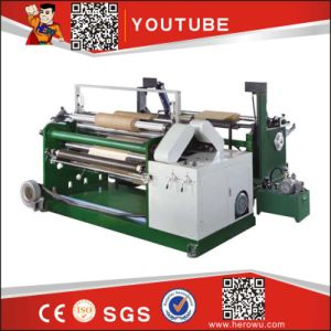 Hk-600-1200 Series of Computer Auto Plastic Roll and Paper Split Slitting and Rewinding Machine (for PET) pictures & photos