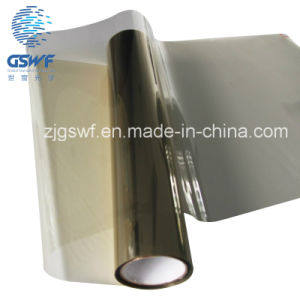 Magnetic Sputtering Metalized Car Window Film with Stable Coating Performance (GWS201) pictures & photos