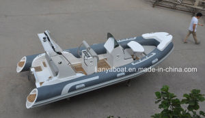 Liya 17ft Inflatable Boat with Motor PVC Rib Boat for Sale pictures & photos