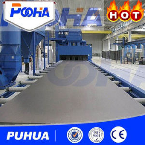 Q69 Pass-Through Roller Conveyor Shot Blasting Machine for H-Beam Cleaning pictures & photos