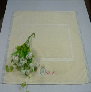 100% Cotton Hotel Towel Bath Mat with Embroidery Logo
