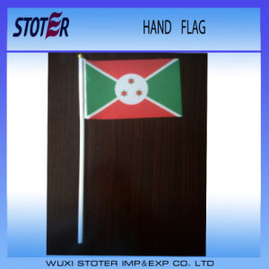 Promotional Custom Hand Stick Flag with Plastic Pole pictures & photos