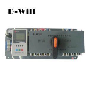 Intelligent 6A~1250A Dual Power Automatic Transfer Switch
