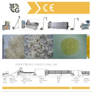 150kg/H Artificial Rice Processing Machine pictures & photos