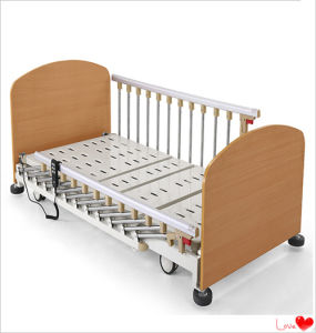 Electric Three Function Super Low Home Care Bed pictures & photos