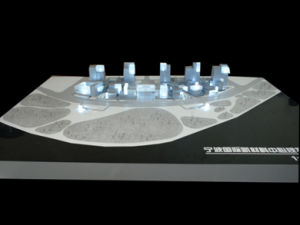 Architectural Model Building of Commercial Zone Planning (JW-396) pictures & photos