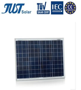High Efficiency 50W Solar Panels with CE, TUV Certificates pictures & photos