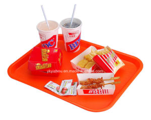 Plastic Food Tray for Caterers or School pictures & photos
