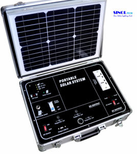 34W AC Output Portable Solar Generator (SP500A) pictures & photos