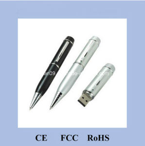 Metal Detectable Ball Pen with USB Memory H-3002