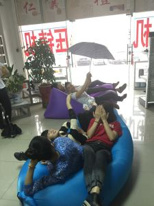 Hangout Air Sofa Bag/Lamzac Wholesale/Inflatable Sleeping Bag Laybags pictures & photos