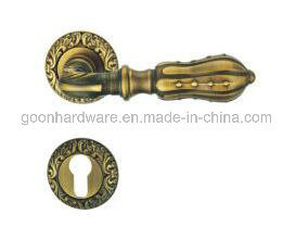 High Quality Solid Brass Door Handle 814 pictures & photos