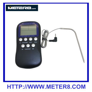 DTH-11 Digital Food Thermometer with Clock Function , Countdown function, with probe pictures & photos