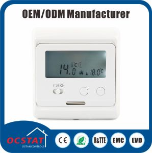 Electronice Thermostat 230V AC COM/Eco/ Antifreeze Mode Switch Digital Thermostast pictures & photos