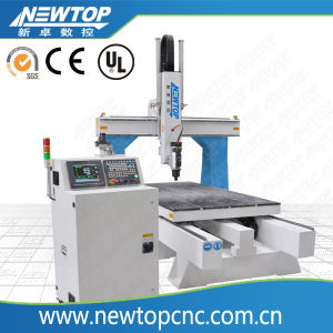 CNC Router 4-Axis Rotary Woodworking Engraving Machine (1325) pictures & photos