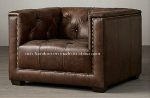 Living Room New Design Vitage Leather Sofa pictures & photos